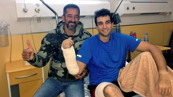 El doctor Cavadas reimplanta a un marine de EEUU una mano amputada en un accidente en un submarino