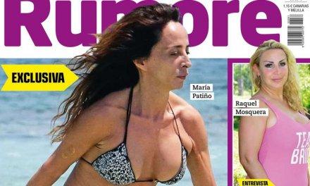 María Patiño presume de figura en Eivissa