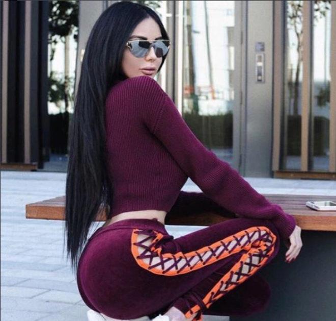 La modelo que retó a Kim Kardashian inyectándose dos kilos de grasa en el trasero