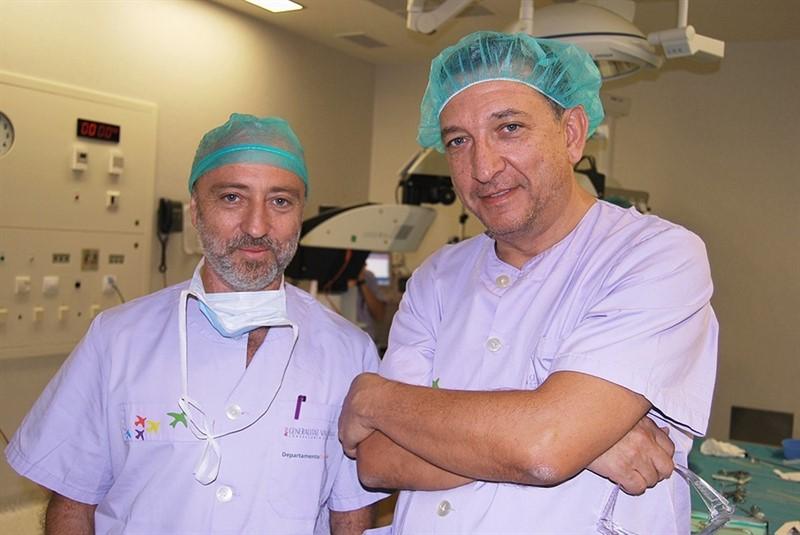 El Hospital de Dénia (Alicante) reconstruye la lengua a un paciente utilizando un colgajo del muslo